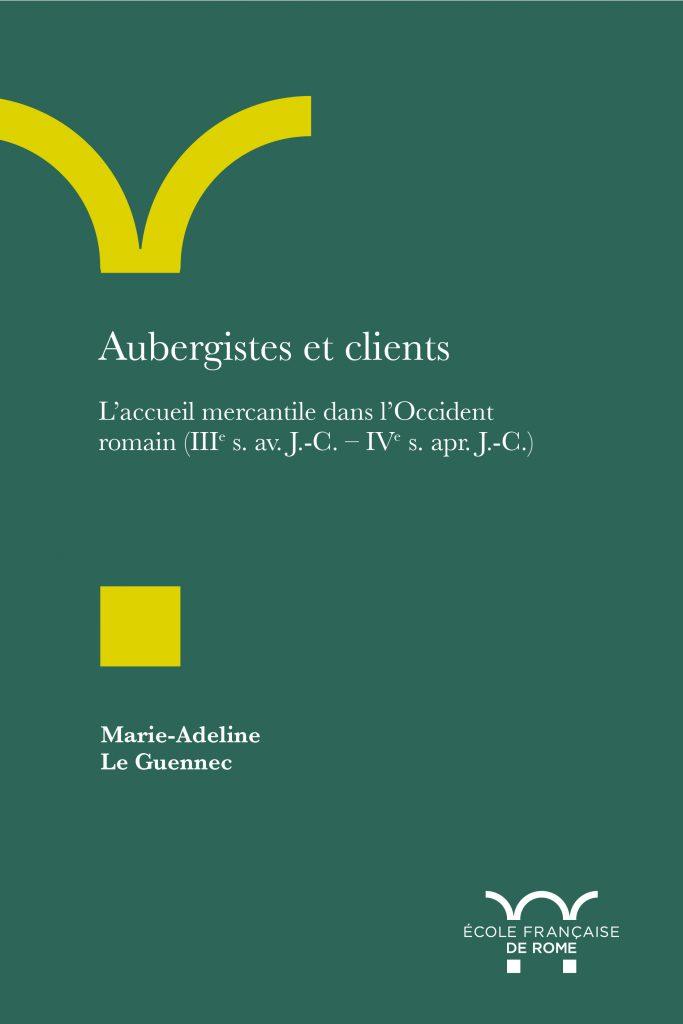 Couverture du livre de la professeure Marie-Adeline Le Guennec